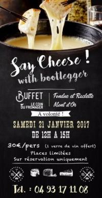 Say Cheese with Bootlegger !